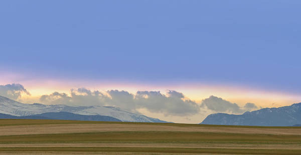 Photograph - Colorado Agriculture Plains Sunset Diptych Pt 2 by James BO Insogna