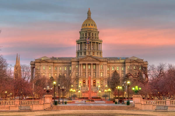 Photograph - Colorado Capital by Gary Lengyel