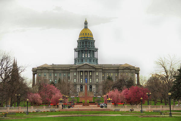 Photograph - Colorado Capitol by Marie Leslie