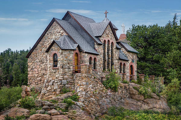 Photograph - Colorado Chapel On The Rock by James Woody