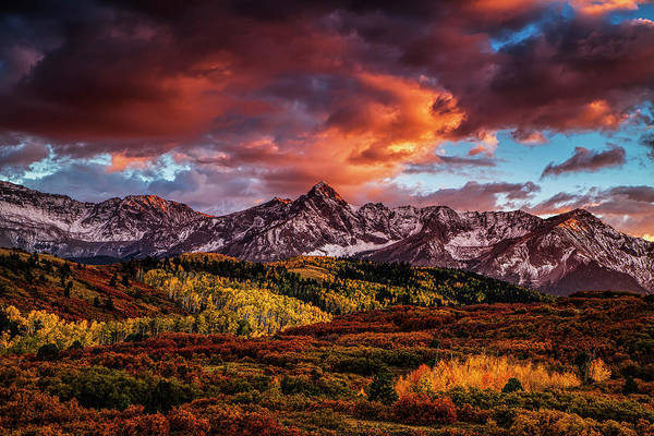Mountain Range Photograph - Colorado Color by Andrew Soundarajan