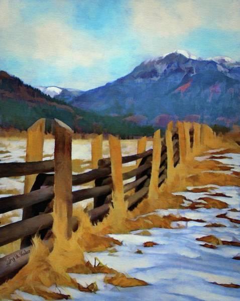 Painting - Colorado Fence Line  by Jeffrey Kolker
