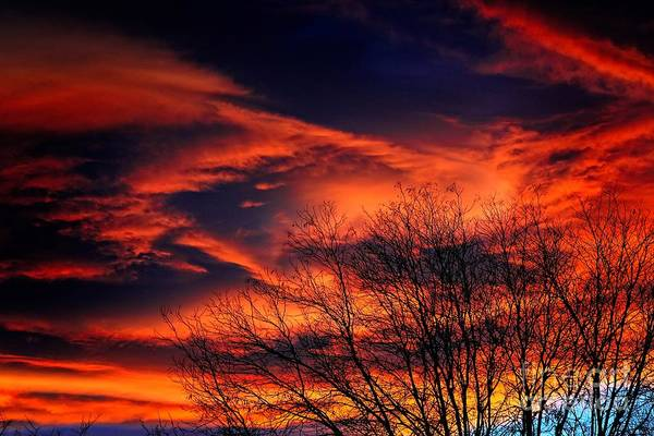 Photograph - Colorado Fire In The Sky by Jon Burch Photography