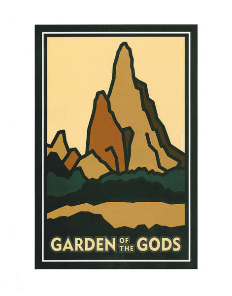 Painting - Colorado Garden Of The Gods by Carrie MaKenna