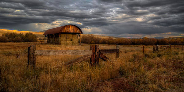 Photograph - Colorado Hay Barn by Ryan Smith