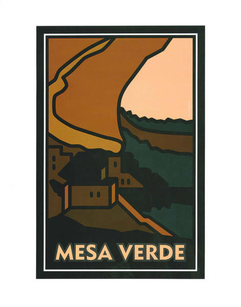 Painting - Colorado Mesa Verde by Carrie MaKenna
