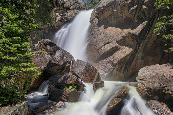 Photograph - Colorado Ouzel Waterfalls by James BO Insogna