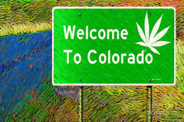 Digital Art - Colorado by Rafael Salazar