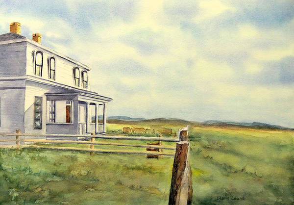 Painting - Colorado Ranch by Debbie Lewis