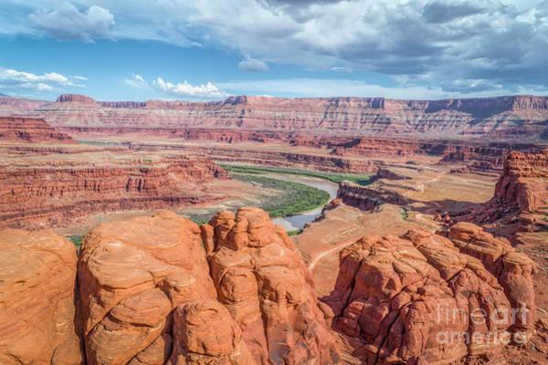 Photograph - Colorado River And Chicken Corner Trail  by Marek Uliasz
