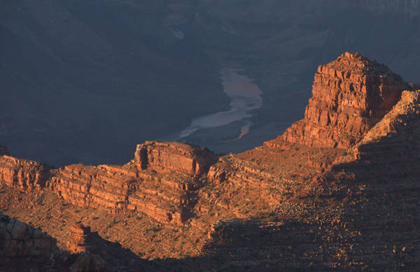 Wall Art - Photograph - Colorado River At Sunset by Stephen  Vecchiotti