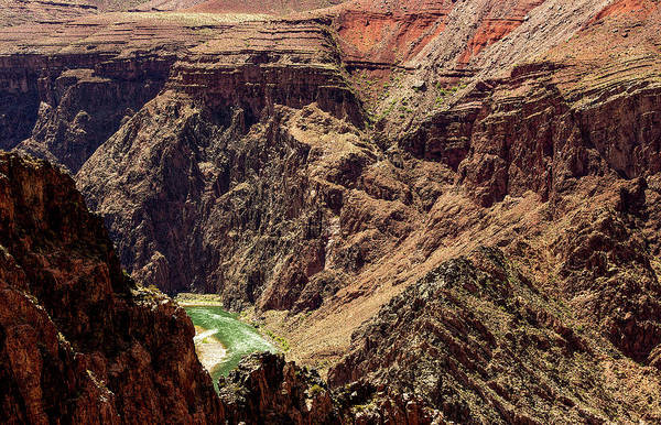Photograph - Colorado River From The South Kaibab Trail by Pete Hendley
