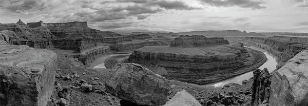 Photograph - Colorado River Gooseneck Pano by Peter J Sucy