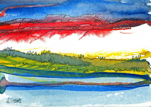 Colorado River I Art Print
