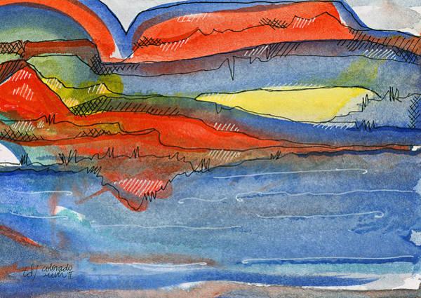 Colorado River II Art Print