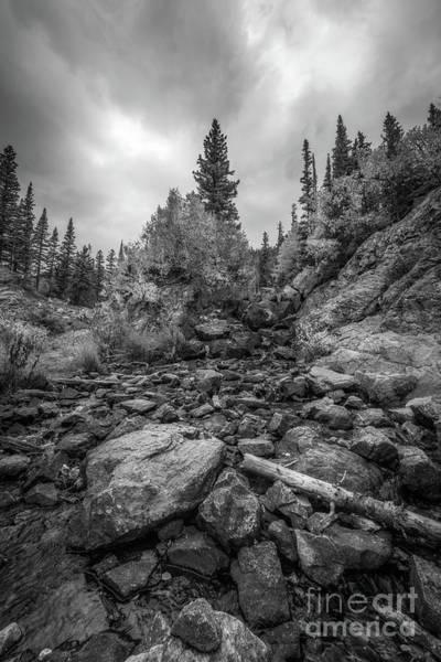 Wall Art - Photograph - Colorado Rockies Bw by Michael Ver Sprill
