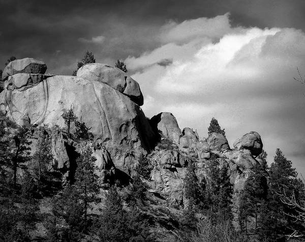 Photograph - Colorado Rocks by Philip Rispin