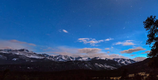 Photograph - Colorado Rocky Mountain Evening Panorama by James BO Insogna