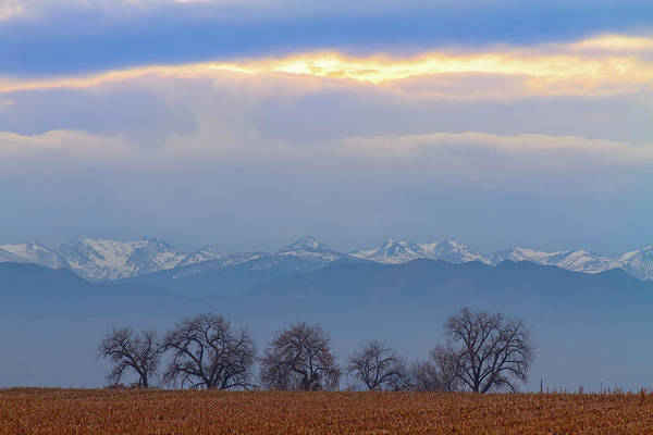 Photograph - Colorado Rocky Mountain Front Range Standing Ovation by James BO Insogna