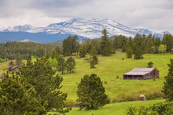 Photograph - Colorado Rocky Mountain Western Landscape by James BO Insogna