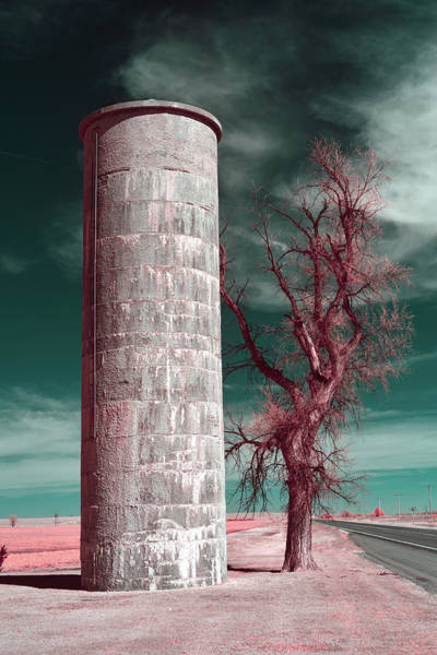 Wall Art - Photograph - Colorado Silo In Infrared by Paul Freidlund
