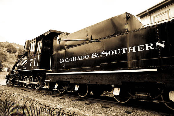 Photograph - Colorado Southern Railroad 1 by Marilyn Hunt