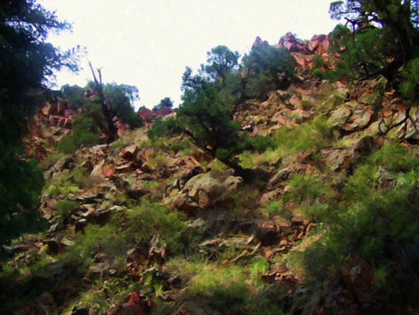 Painting - Colorado Springs Area Digital Oil #21 by Chris Flees