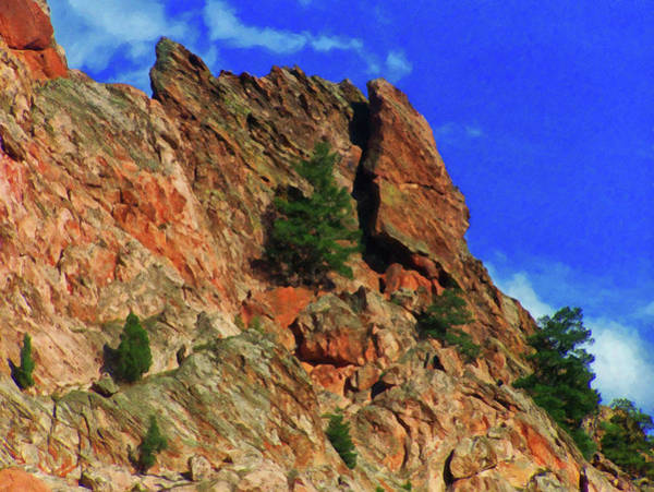 Painting - Colorado Springs Area Digital Oil #60 by Chris Flees