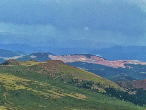 Painting - Colorado Springs Area Digital Oil #87 by Chris Flees
