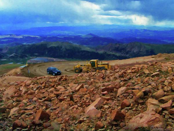 Painting - Colorado Springs Area Digital Oil #89 by Chris Flees