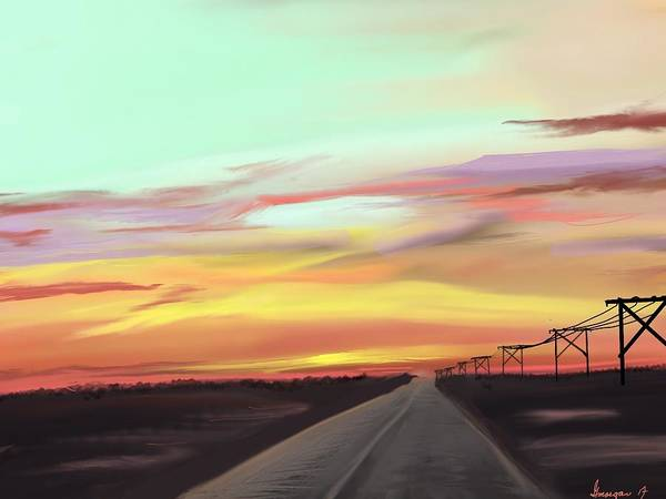 Digital Art - Colorado Sunrise by Gerry Morgan