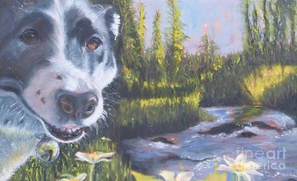 Painting - Colorado Trail Buddy by Susan A Becker
