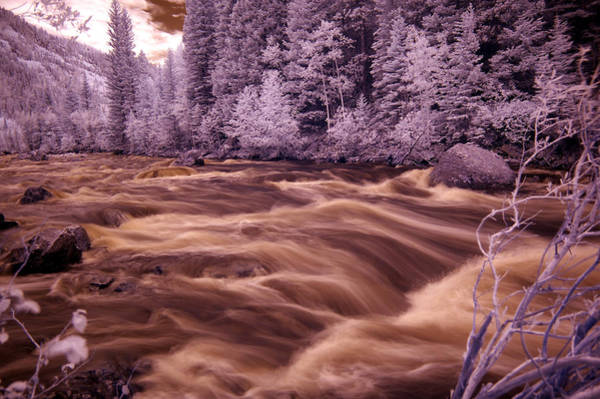 Wall Art - Photograph - Colorado Water In Ir by Thomas Bomstad