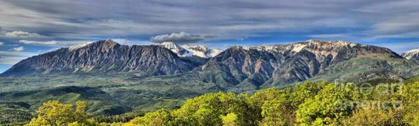 Photograph - Colorado West Elk Range by Adam Jewell