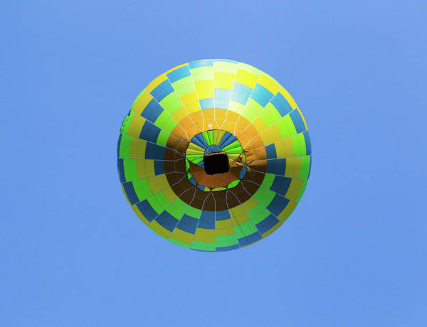 Photograph - Colorful Abstract Hot Air Balloon by Pete Hendley