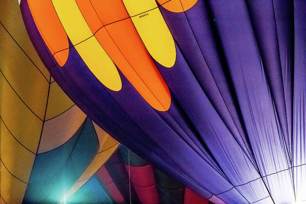 Photograph - Colorful Abstract Hot Air Balloons by Pete Hendley