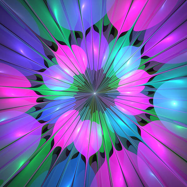 New Trend Digital Art - Colorful And Lumious by Gabiw Art