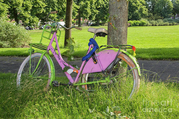Wall Art - Photograph - Colorful Bike by Patricia Hofmeester
