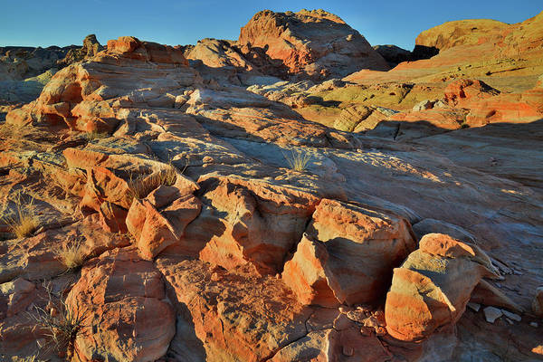 Photograph - Colorful Bowling Balls At Sunrise In Valley Of Fire by Ray Mathis