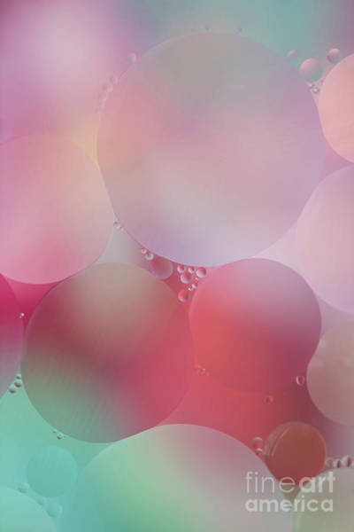Photograph - Colorful Bubbles 2 by Elena Nosyreva