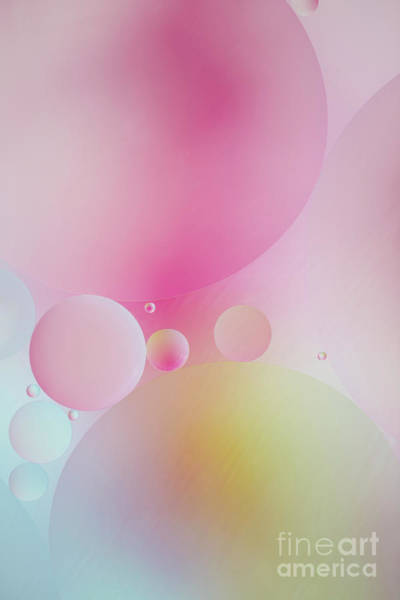 Photograph - Colorful Bubbles by Elena Nosyreva
