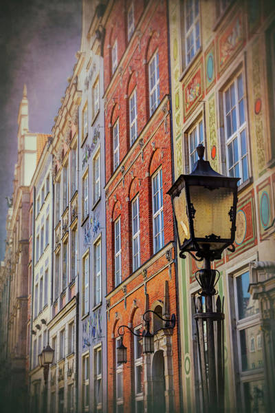 Wall Art - Photograph - Colorful Buildings Of Dluga Street Gdansk Poland by Carol Japp