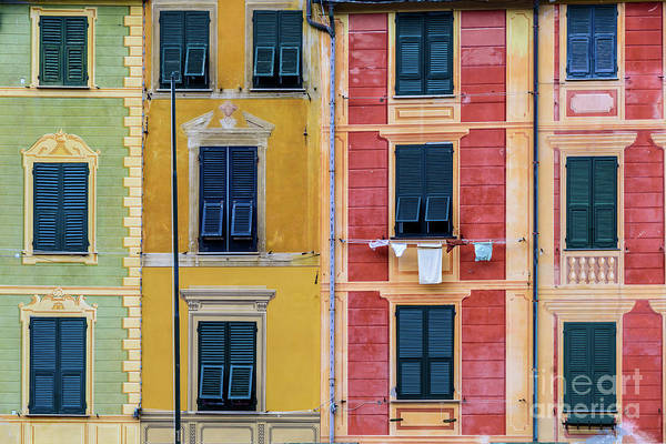 Photograph - Colorful Buildings Of Portofino, Italy by Global Light Photography - Nicole Leffer