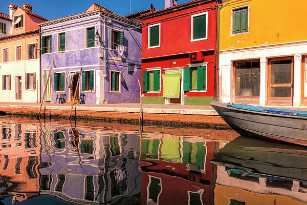 Wall Art - Photograph - Colorful Burano by Andrew Soundarajan
