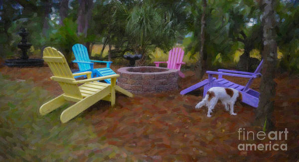 Photograph - Fire Pit Harmony by Dale Powell