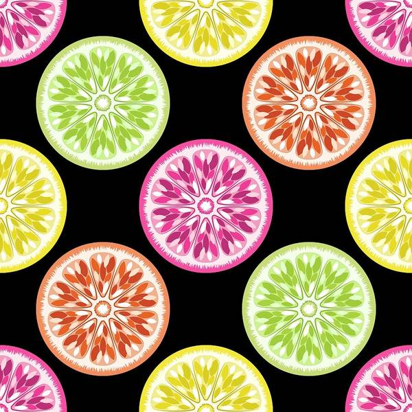 Photograph - Colorful Citrus Slices by MM Anderson