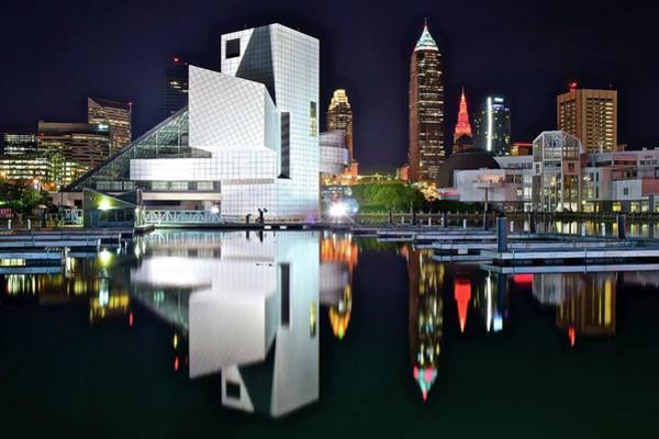 Wall Art - Photograph - Colorful Cleveland 2017 by Frozen in Time Fine Art Photography