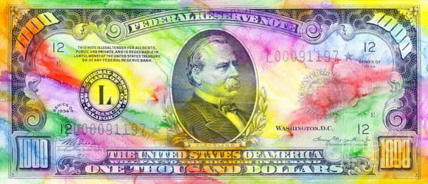 One Dollar Photograph - Colorful Cleveland by Jon Neidert