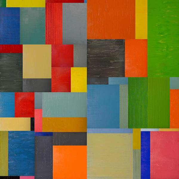 Painting - Colorful Collage 5.0 by Michelle Calkins