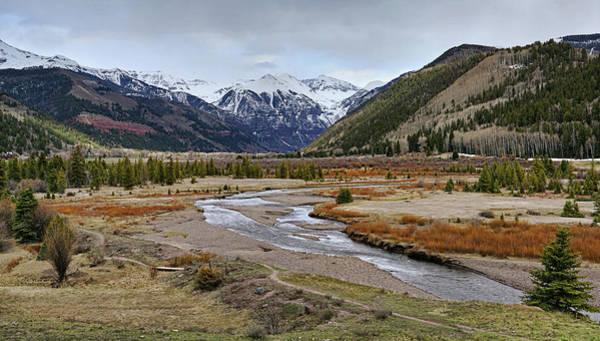 Photograph - Colorful Colorado Valley by Leda Robertson